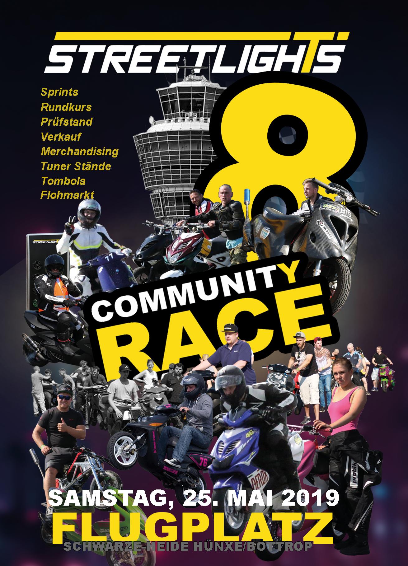 Streetlights Community Race 8 25.05.2019 Rollertreffen