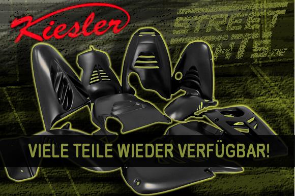 Kiesler Racing Parts ab jetzt wieder bei Streetlights.de