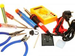 Löt- und Werkzeugset Premium 12-teiliges Set