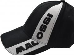 Baseballcap Malossi schwarz-weiss