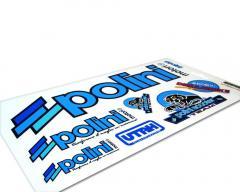 Aufkleberset Polini A4