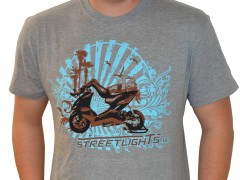 T-Shirt Streetlights Sunshine