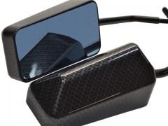 Spiegel Vanez F1 Race Carbon - Blaues Glas