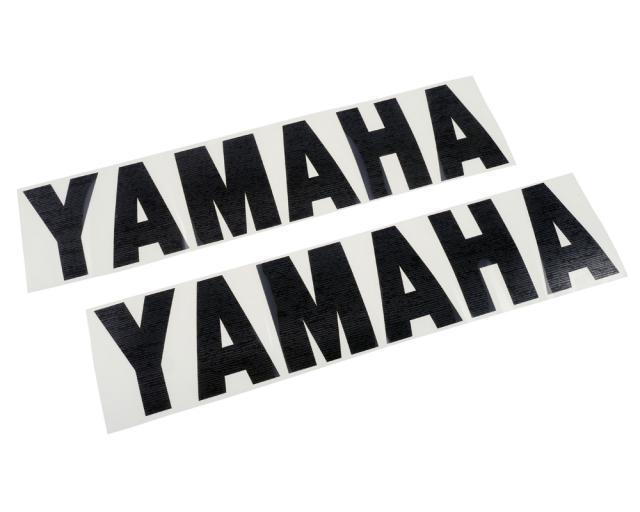 Aufkleber Yamaha Gross 32cm 2 Stk