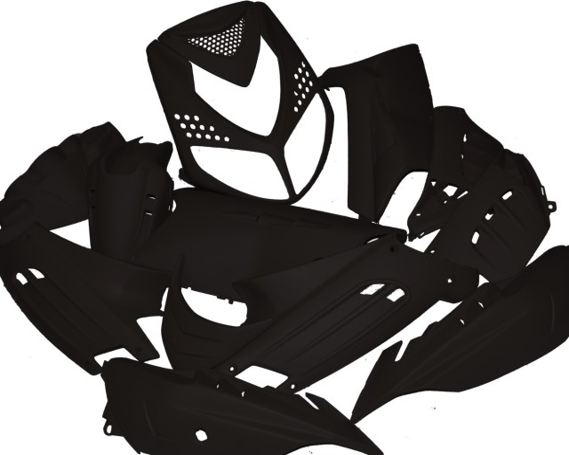 verkleidungskit speedfight komplett 13 teilig var. Black Bedroom Furniture Sets. Home Design Ideas