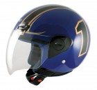 Jethelm Helm A-PRO One Blue