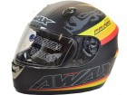 Helm Malossi Cafe Racer von AWAX
