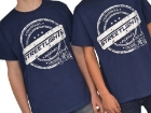 T-Shirt Streetlights Original, Navy , aufdruck weiss