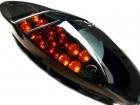 Rückleuchte Black LED, inkl. Blinkerfunktion