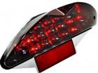 Rückleuchte Black LED, inkl. Blinkerfunktion  und Nummernschildbeleuchtung